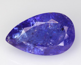 4.32 CT D BLOCK TANZANITE HIGH QUALITY GEMSTONE TZ3