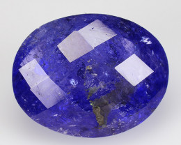 7.09 CT D BLOCK TANZANITE HIGH QUALITY GEMSTONE TZ19