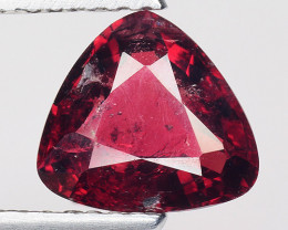 1.63 Ct Natural Pure Red Spinel Sparkiling Luster Gemstone. SPR 11