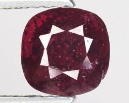1.95 Ct Natural Pure Red Spinel Sparkiling Luster Gemstone. SPR 19