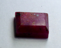 4.00 CT Natural & Unheated Pink Ruby Faceted Cut Stone