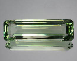 19.55 Cts EXQUISITE NATURAL CUSTOM OCTAGON CUT GREEN AMETHYST GEM