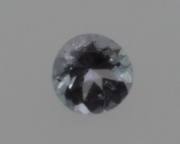 0.15 CT Round Cut Tanzanite 3.6 mm | Unheated