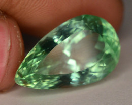 16.60 Ct Green Spodumene Gemstone From Afghanistan~ G AQ
