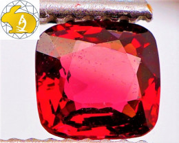 VVS! INTENSE RED! Cert. 0.78 CT Mahenge Spinel $1,950 | FREE SHIPPING!