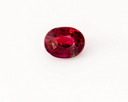 Ruby 0.43 ct Mozambique GPC Lab