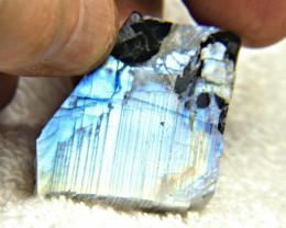 109.65 Labradorite Rough - Gorgeous