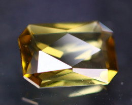 Yellow Tourmaline 1.35Ct Natural Tourmaline Designer Cutting AN42