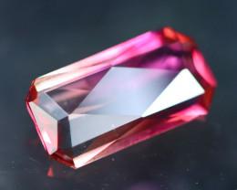 Pink Tourmaline 1.27Ct Natural Tourmaline Designer Cutting AN45