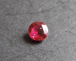 0.56ct Vivid red spinel