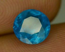 Rare Blue Apatite ~ Awesome Color and Luster