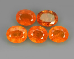 7.20 Cts Unheated Natural Orange Spessartite Garnet Namibia Gem