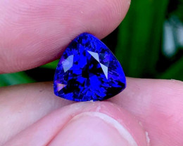 7.99ct Lab Certified Natural Tanzanite ** Internally Flawless **