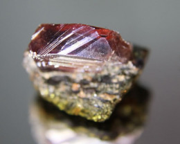 Winza Ruby 13.75ct Crystal On Amphibolite Host Rock, Natural and Untreated,