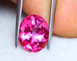 5.70ct Natural Pink Topaz Oval Cut Lot V6195