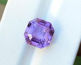 6 Ct Natural Purple Transparent Amethyst Gemstone