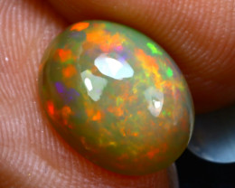 Welo Opal 1.97Ct Natural Ethiopian Play of Color Opal DR81