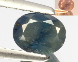 0.84 Cts Natural Color Change Alexandrite Oval Gem India