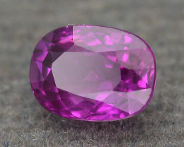 GiL Certified Unheated 0.71 ct Ruby Mozambique SKU.2