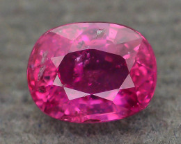GiL Certified Unheated 0.65 ct Natural Ruby SKU.2