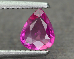 GiL Certified Unheated 0.76 ct Natural Ruby SKU.2