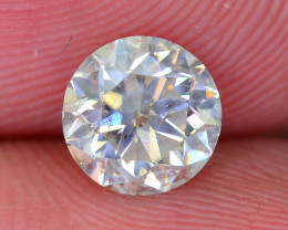 Untreated 0.97 ct White Diamond