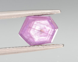 Natural Ruby 2.26 Cts with Hexagonal Pattern from Guinea