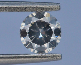 AAA GRADE 0.45 ct Round Brilliant Cut White Diamond