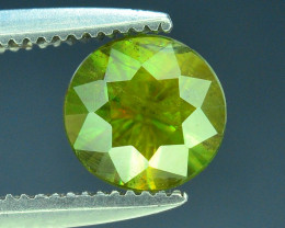 AAA Color 0.85 ct Chrome Sphene from Himalayan Range Skardu Pakistan