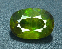 AAA Color 2.60 ct Chrome Sphene from Himalayan Range Skardu Pakistan