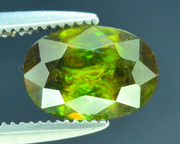 AAA Color 1.45 ct Chrome Sphene from Himalayan Range Skardu Pakistan