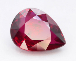GIL Certified 2.03 ct Natural Ruby ~ Mozambique