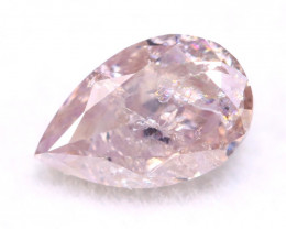 Pink Diamond 0.28Ct Natural Untreated Fancy Pink Color Diamond A0804