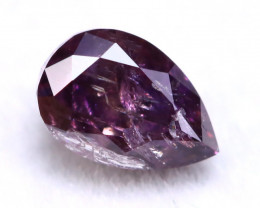 Purple Diamond 0.27Ct Natural Untreated Fancy Purple Color Diamond A0832