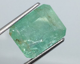 ⭐️SALE 7.7 Carat Zambia Emerald Exquisite Quality and Luminescense!