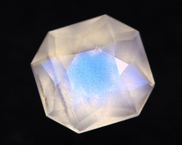 Moonstone 1.22Ct Icy Grade Rainbow Blue Flash Moonstone BN122