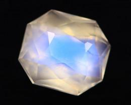 Moonstone 1.36Ct Icy Grade Rainbow Blue Flash Moonstone BN123
