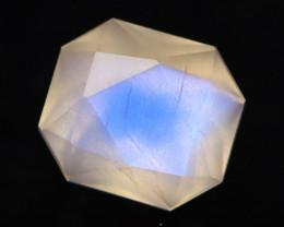 Moonstone 1.11Ct Icy Grade Rainbow Blue Flash Moonstone BN126