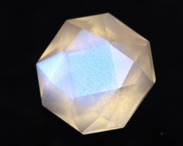 Moonstone 1.18Ct Icy Grade Rainbow Blue Flash Moonstone BN134