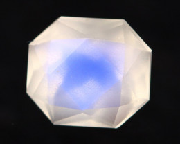 Moonstone 0.99Ct Icy Grade Rainbow Blue Flash Moonstone BN138