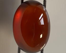 9.48ct LARGE BEAUTIFUL ORANGE HESSONITE GARNET CAB