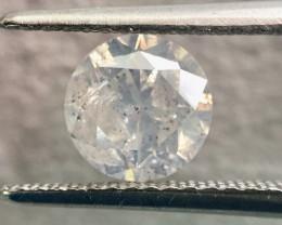 GIA 1.21 Carat Round Brilliant Natural Fancy White Loose Diamond