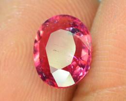 Top Color 1.20 ct Malawi Raspberry Pink Umbalite Garnet