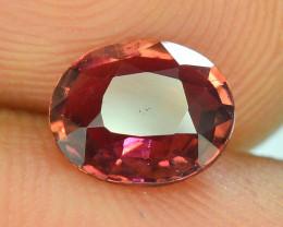 Top Color 0.95 ct Malawi Raspberry Pink Umbalite Garnet