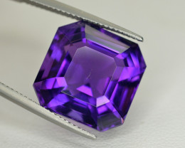 17.45  Ct Amazing Color Natural Amethyst ~ Uruguay