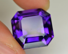 16.65  Ct Amazing Color Natural Amethyst ~ Uruguay
