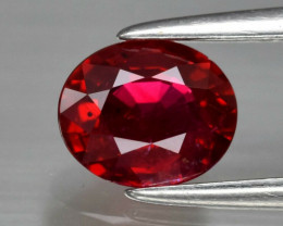 Ruby 0.77 ct Mozambique GPC Lab