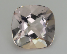 AAA Grade 4.77 ct Pink Morganite SKU.10