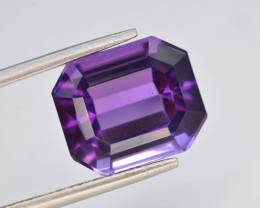 Top Color 7.10 ct AAA Cut Untreated Amethyst~ AS