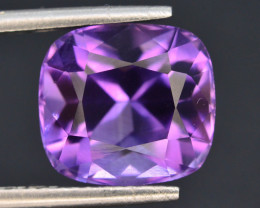 Top Color 4.90 ct AAA Cut Untreated Amethyst~ AS